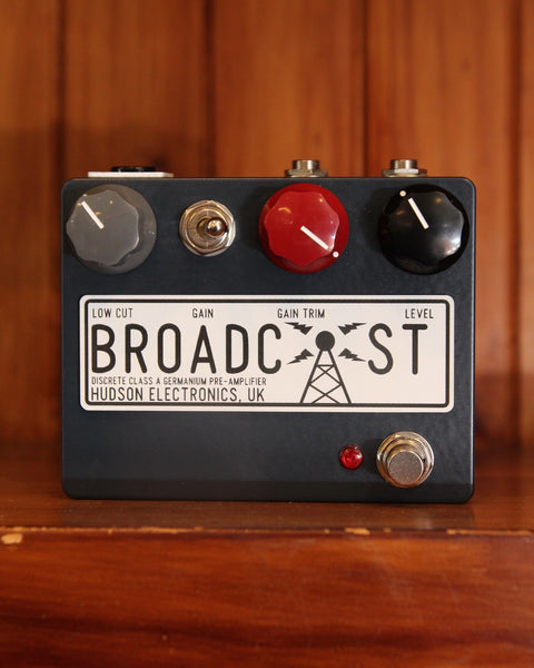 *NEW ARRIVAL* Hudson Electronics Broadcast Preamp Drive Pedal