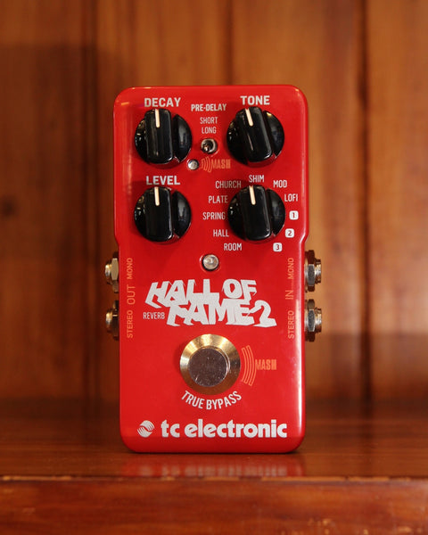 *NEW ARRIVAL* TC Electronic Hall Of Fame 2 Reverb Pedal