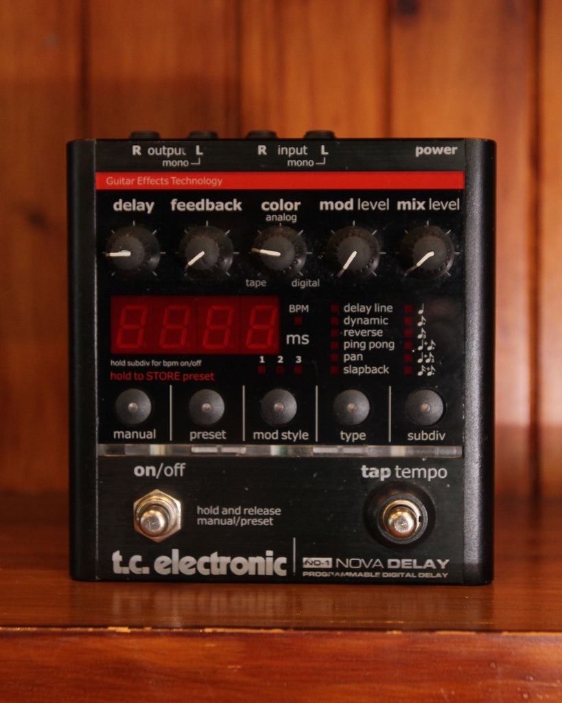 TC Electronic ND-1 Nova Delay Pedal Pre-Owned