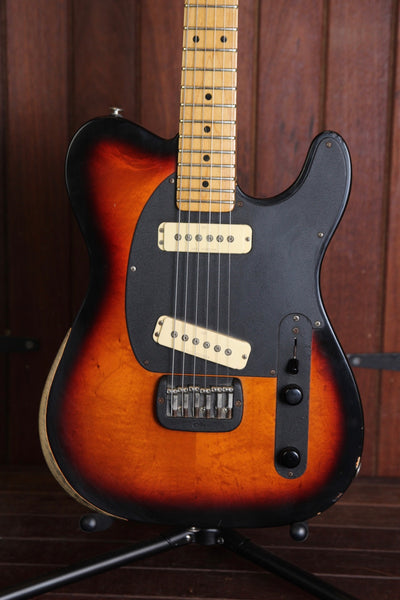 G&L ASAT Solidbody 1991 Sunburst Electric Guitar Pre-Owned