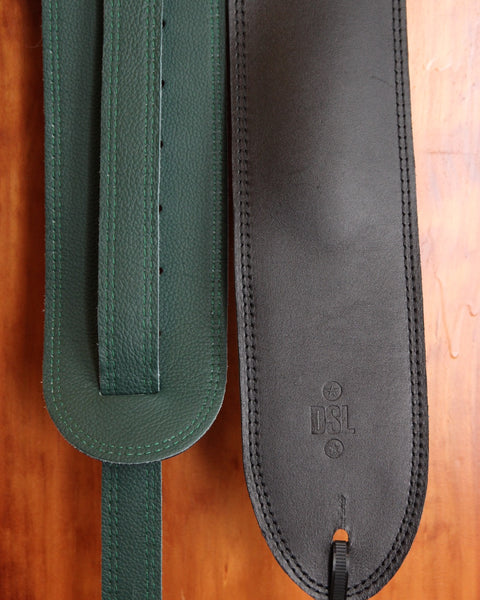 DSL 3.5″ Superwide Padded Garment Leather Strap - Made in Aus