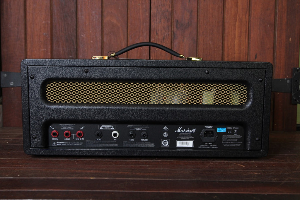 Marshall Origin ORI50H 50-watt Valve Head