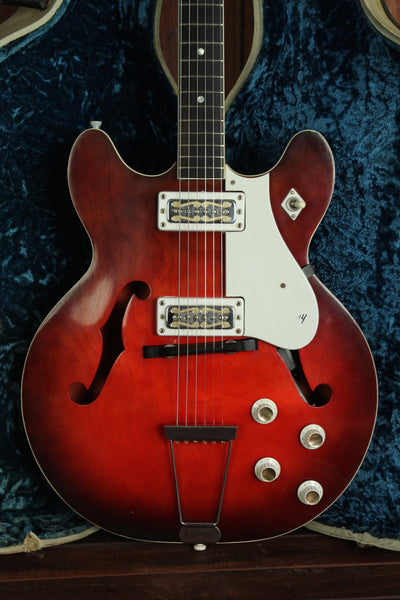 Harmony 1969 H54 Rocket Vintage Semi-Hollow Electric Guitar - The Rock Inn - 1