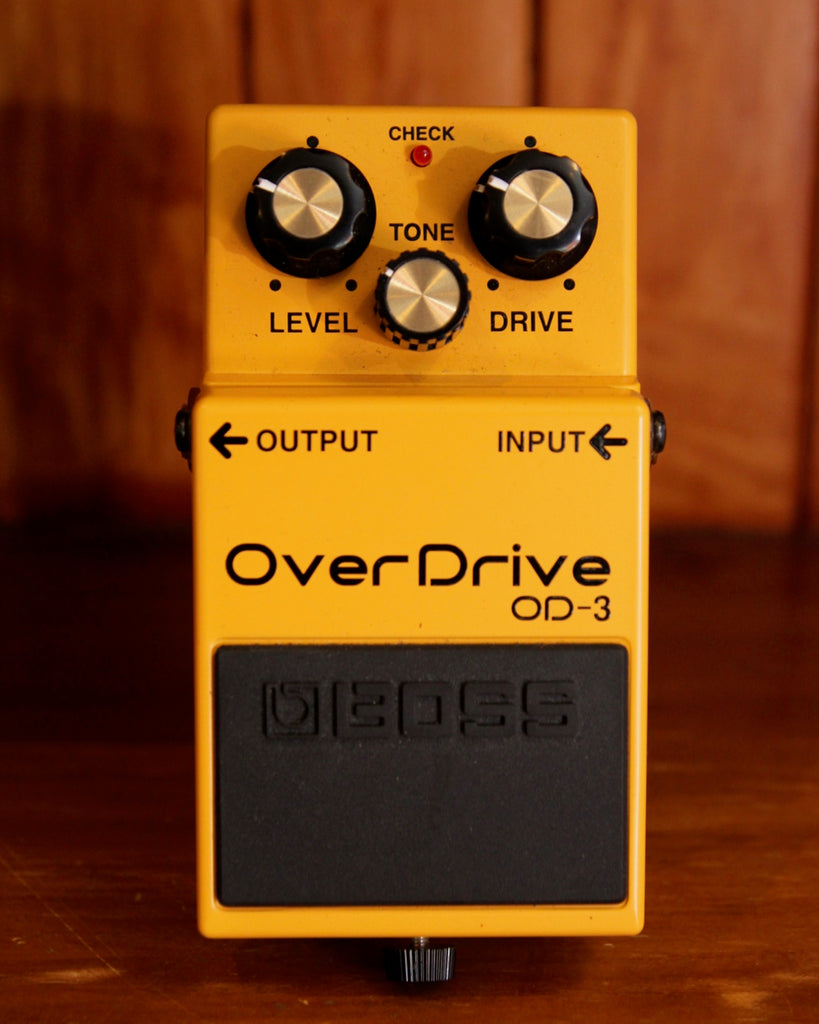Boss OD-3 Overdrive Pedal Pre-Owned