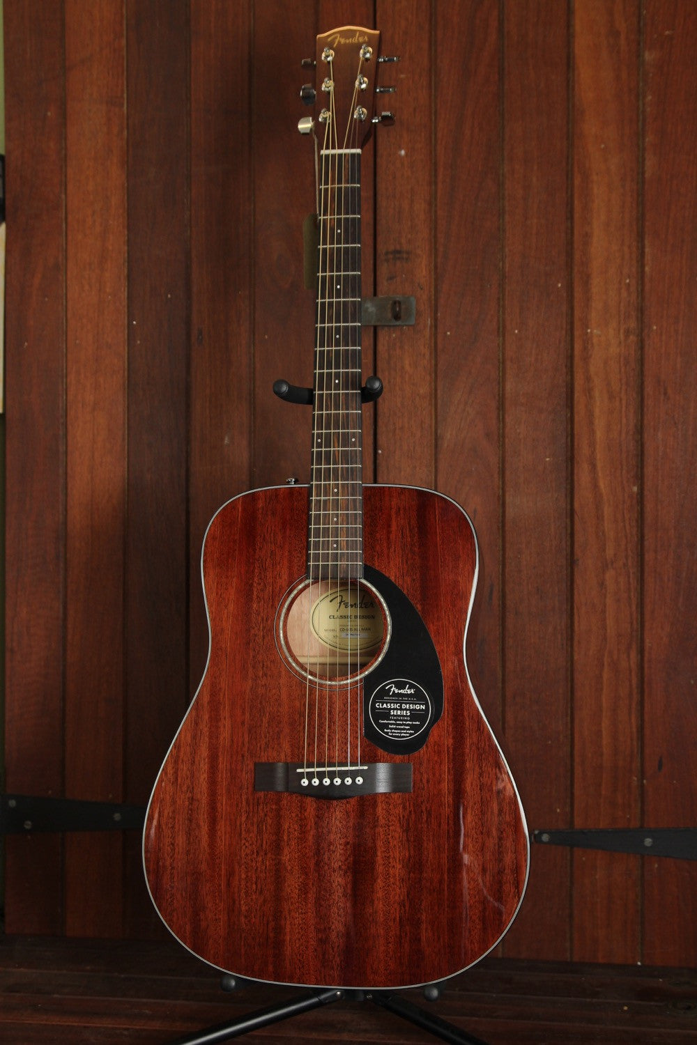 Fender CD-60S Solid Top Dreadnought Mahogany