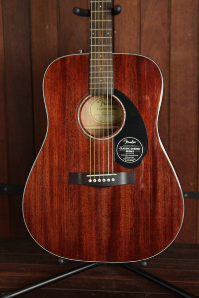 *NEW ARRIVAL* Fender CD-60S Solid Top Dreadnought Mahogany