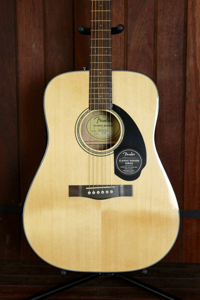 Fender CD-60S Solid Top Dreadnought Spruce Natural