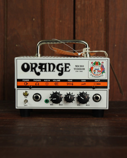 Orange Micro Terror MT20 20W Hybrid Guitar Amp Head - The Rock Inn - 1