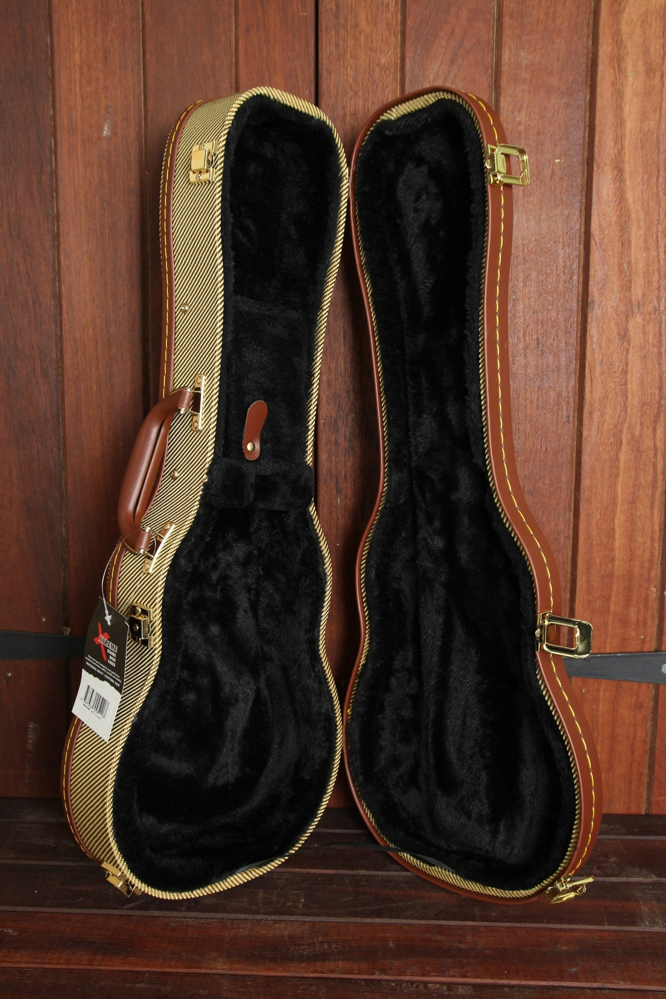 V-Case Soprano Tweed Ukulele Hardshell Case HC460 - The Rock Inn - 1