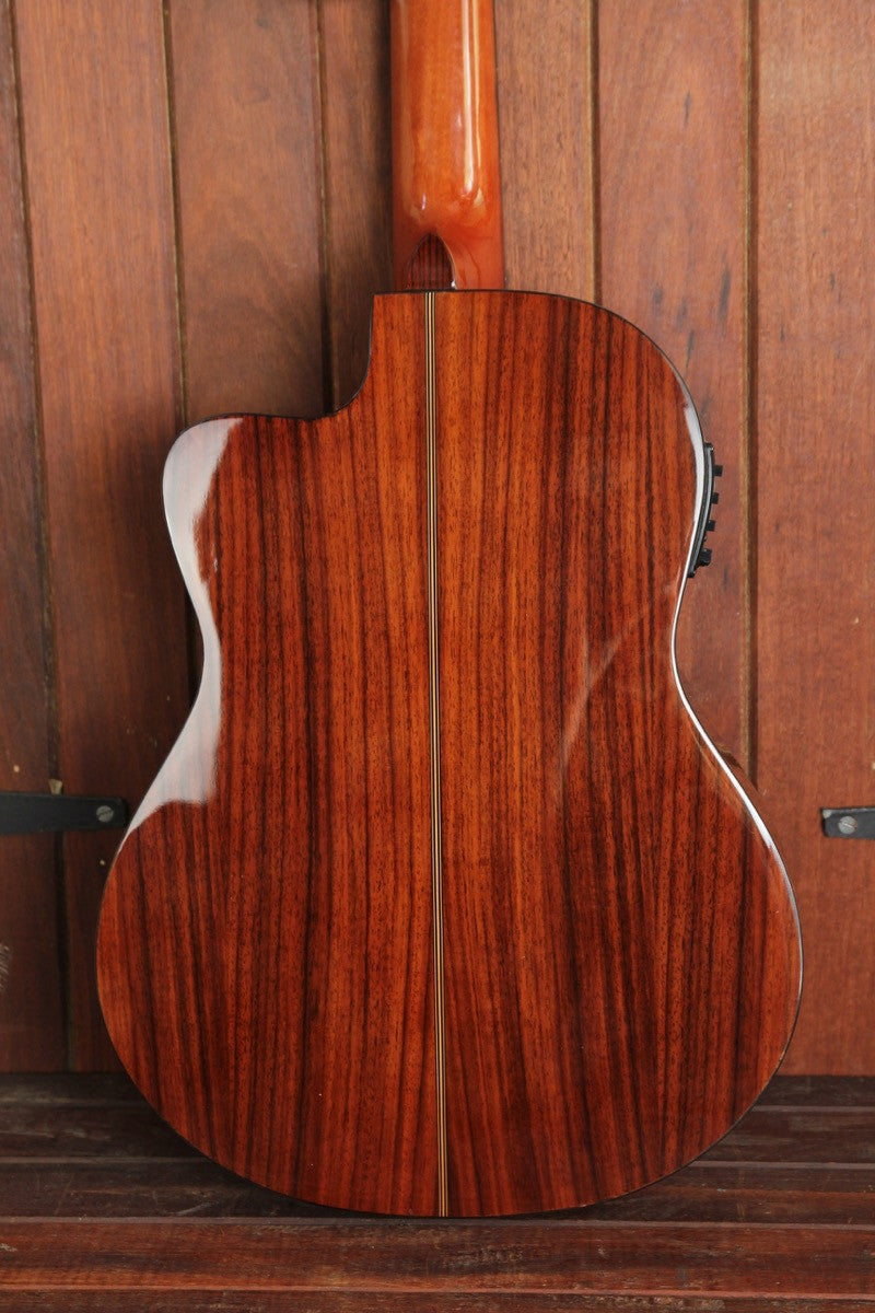 Valencia VC604CE Acoustic-Electric Cutaway Nylon Guitar - The Rock Inn