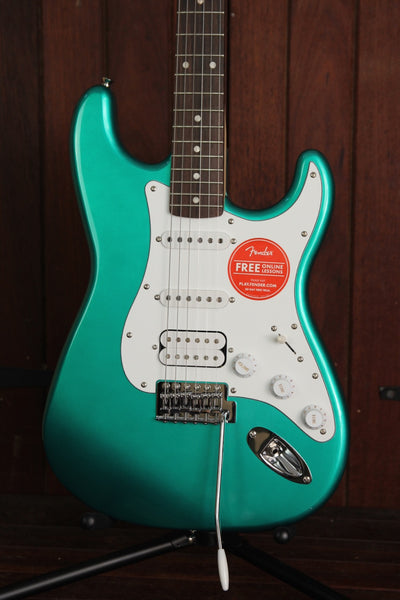 Squier Affinity HSS Stratocaster Electric Guitar Race Green