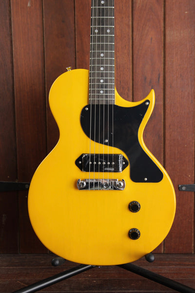 Vintage V120 Solidbody Electric Guitar TV Yellow