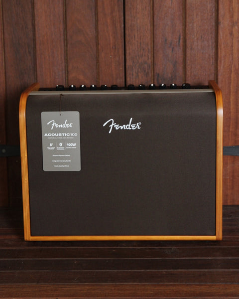 *NEW ARRIVAL* Fender Acoustic 100 100W 1x8 Acoustic Guitar Combo