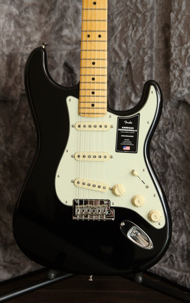Fender American Professional II Stratocaster Black Maple