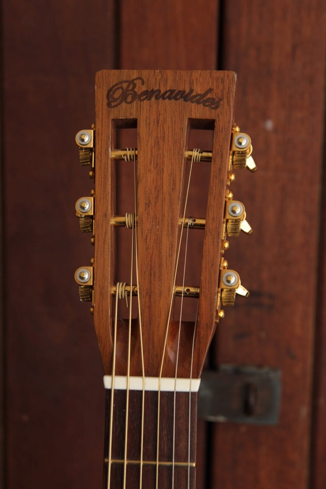 Benavides Custom Small-Body Acoustic Guitar Pre-Owned