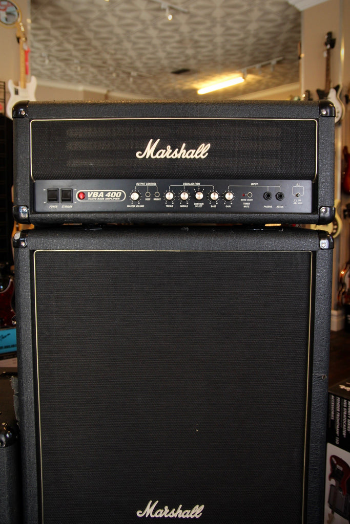 Marshall VBA400 Valve Bass Amplifier Full Stack Pre-Owned