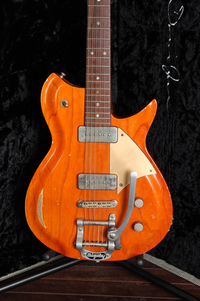 *NEW ARRIVAL* Fano Alt De Facto RB6 Bigsby Orange Stain Electric Guitar Pre-Owned