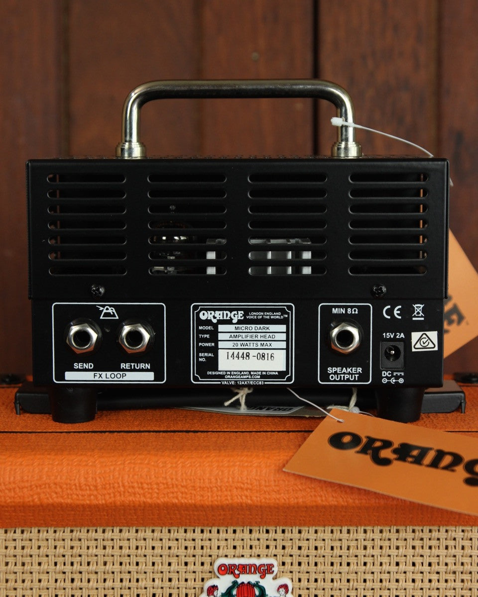 Orange Micro Dark 20W Tube Hybrid Amp Head, | The Rock Inn