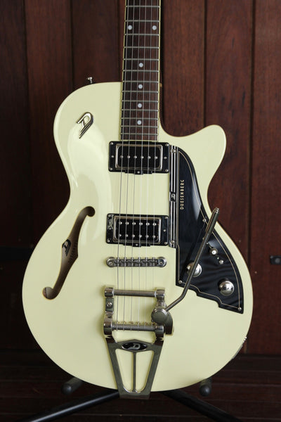 Duesenberg Starplayer TV Vintage White Semi-Hollow Guitar Pre-Owned