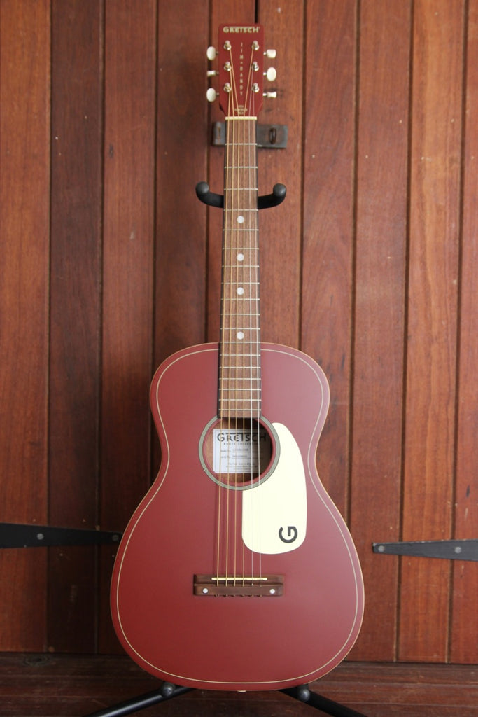 Gretsch G9500 Limited Edition Jim Dandy Oxblood Acoustic Guitar