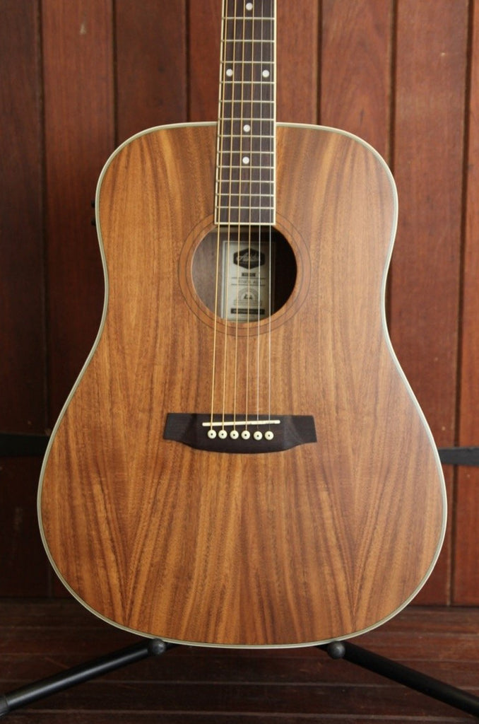 Ashton D26EQ-ACA Acacia Dreadnought Acoustic Guitar