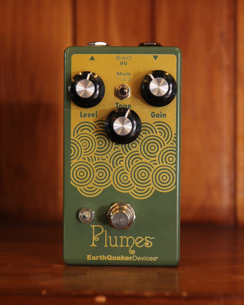 EarthQuaker Devices Plumes Overdrive Pedal Pre-Owned