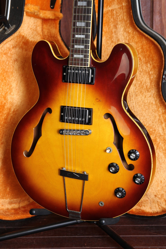 Greco SA-500S Hollowbody Sunburst Vintage Made in Japan