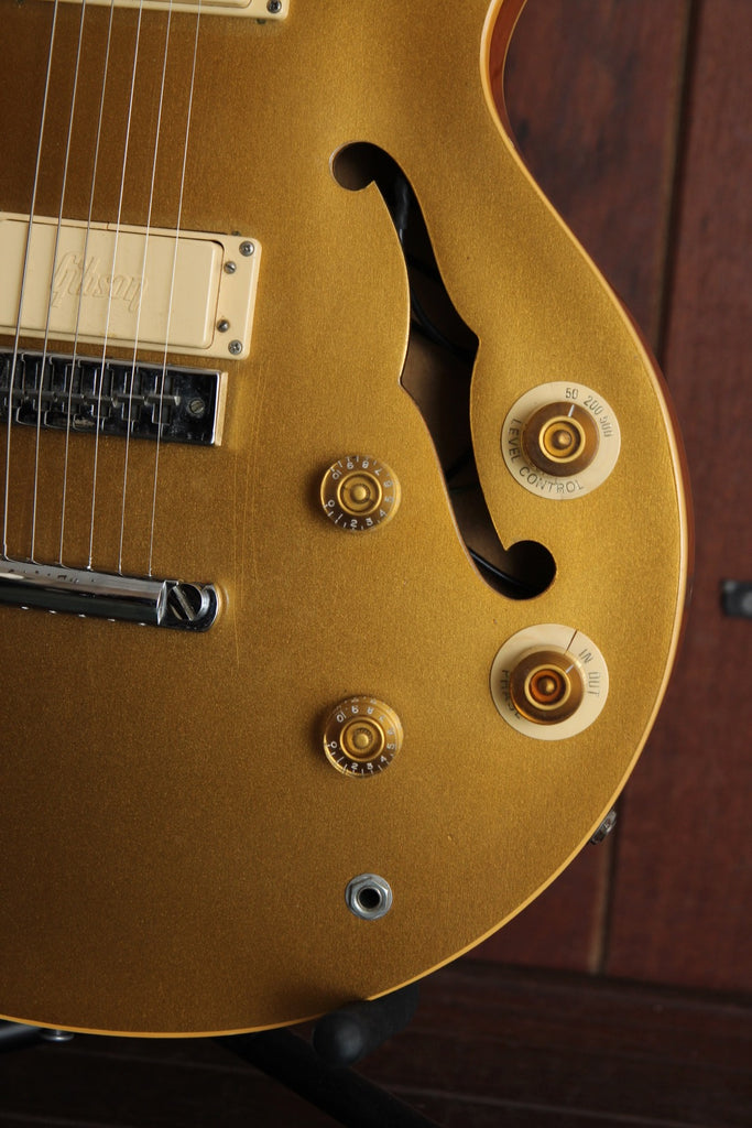 Gibson Les Paul Signature Vintage 1973 Gold Top Semi-Hollowbody
