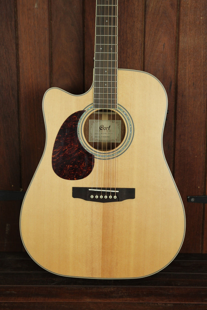 Cort MR710FL Dreadnought Left Handed Acoustic-Electric Guitar - The Rock Inn - 1