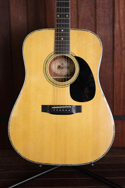 Morris W-30 Acoustic Guitar Made In Japan Pre-Owned