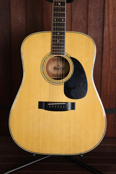Morris W-25 Acoustic Guitar Made In Japan Pre-Owned