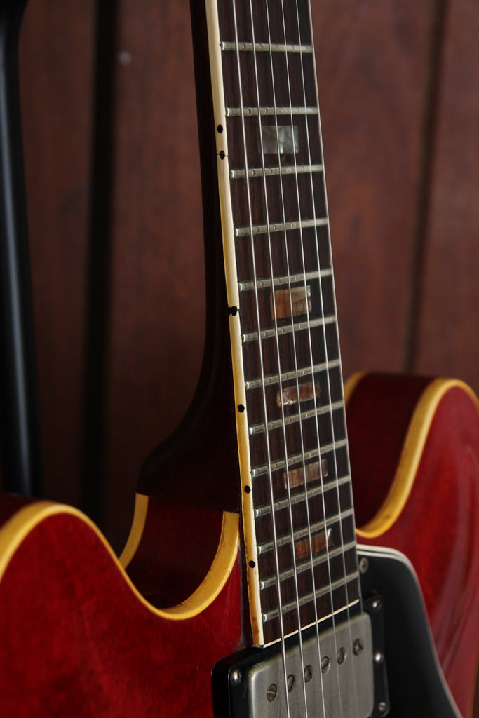 Gibson ES-335 Vintage 1963 Block Inlay Cherry Red