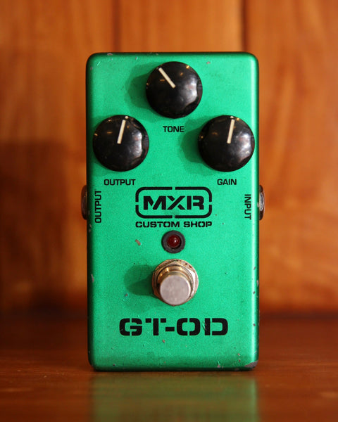 MXR GT-OD Overdrive Pedal Pre-Owned