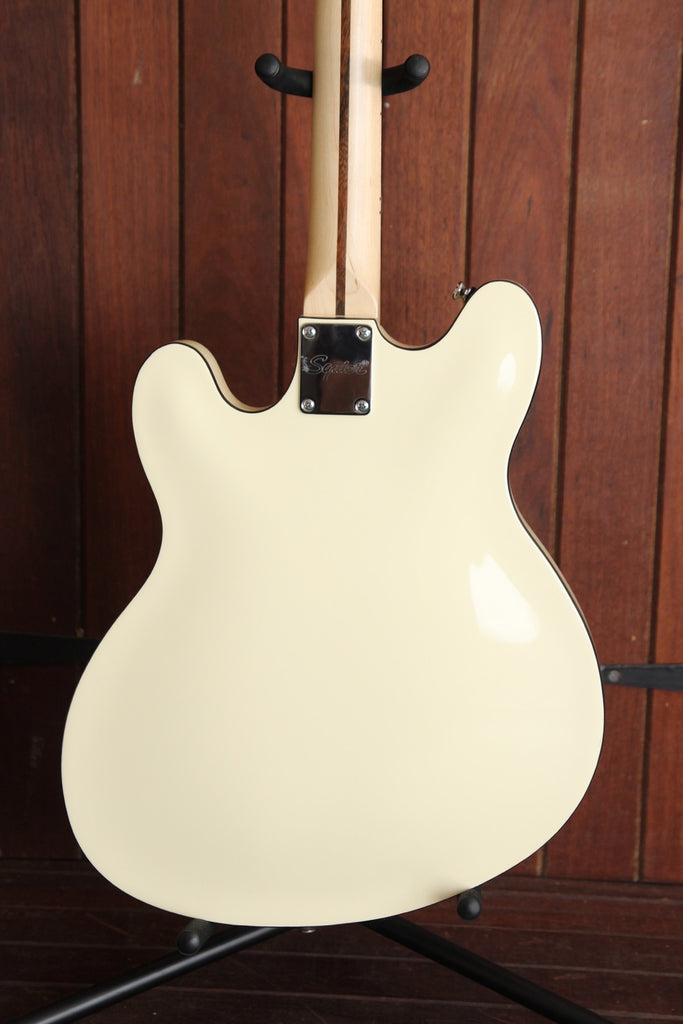 Squier Affinity Starcaster Semi-Hollow Guitar White