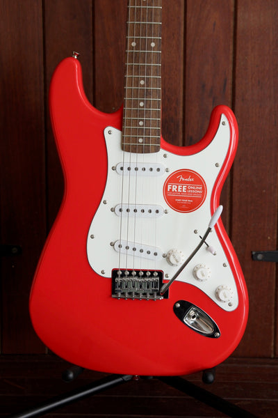 Squier Affinity Stratocaster Electric Guitar Race Red