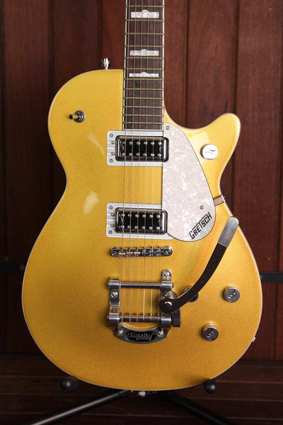 Gretsch G5438T Electromatic Pro Jet Bigsby Gold Pre-Owned