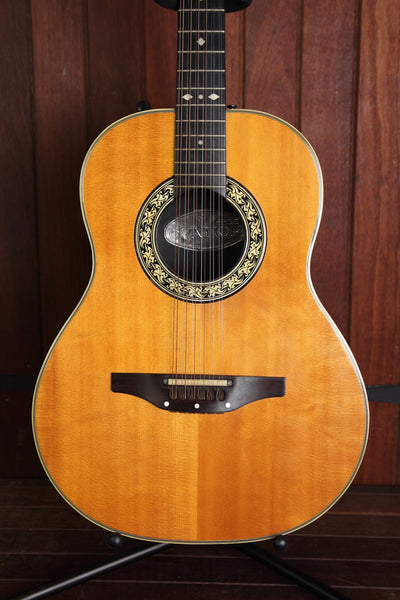 Ovation 1615-12 Acoustic-Electric 12-string Guitar Pre-Owned