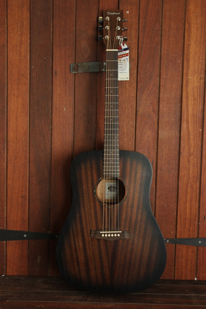 Tanglewood Crossroads Dreadnought Vintage Series Acoustic Guitar - The Rock Inn