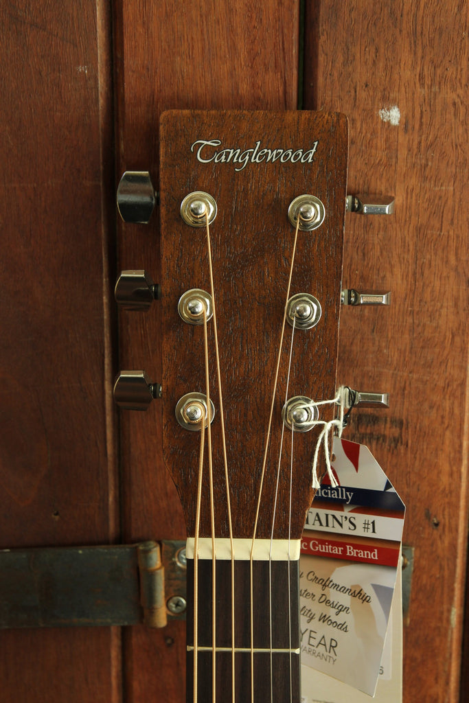 Tanglewood Crossroads Dreadnought Vintage Series Acoustic Guitar - The Rock Inn - 4
