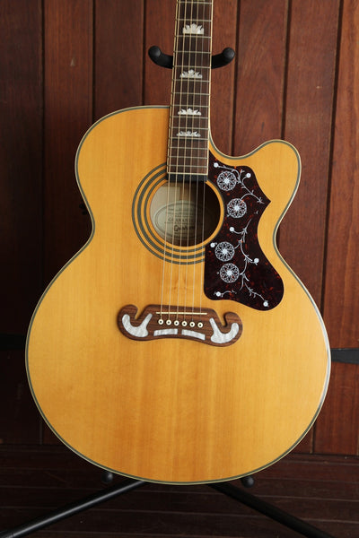 Epiphone EJ-200CE Jumbo Acoustic Guitar Pre-Owned with Case