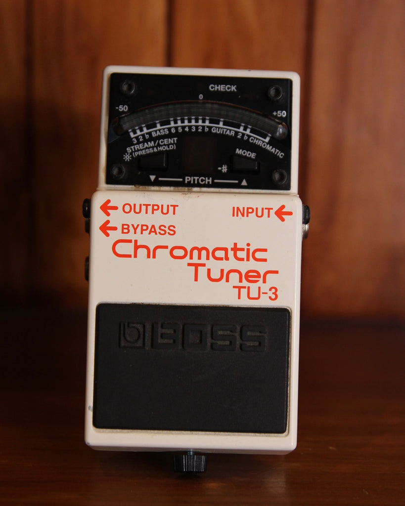Boss TU-3 Chromatic Tuner Pedal Pre-Owned