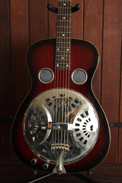Savannah Wood Body Acoustic-Electric Resonator Left Handed Pre-Owned