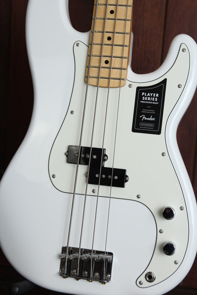Fender Player Series Precision Bass Maple Polar White