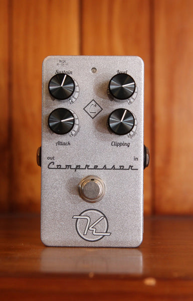 Keeley Compressor 4-knob Guitar Effect Pedal Pre-Owned