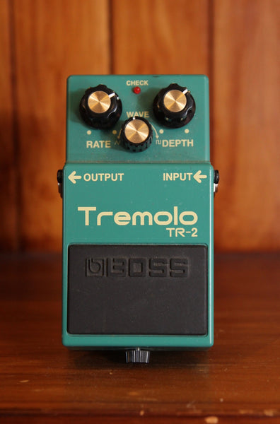 Boss TR-2 Tremolo Pedal Pre-Owned