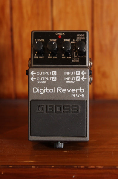 Boss RV-5 Reverb Pedal Pre-Owned