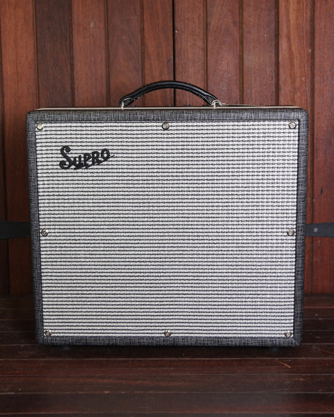 "Supro 1695T Black Magick 1x12"" Valve Amplifier Pre-Owned"