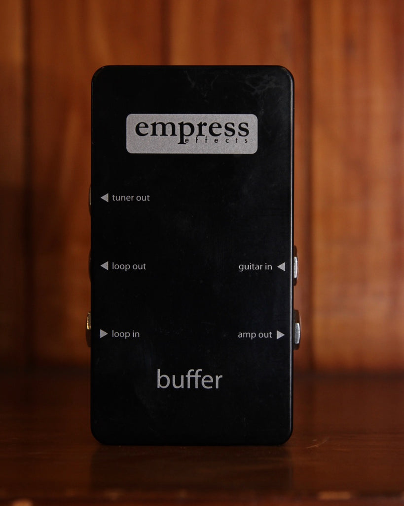 Empress Effects Buffer I/O Effect Pedal Pre-Owned