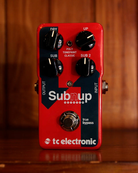 TC Electronic Sub 'n' Up Octave Pedal