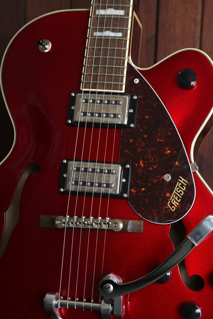 Gretsch G2420T Streamliner Cutaway Hollowbody Guitar Bigsby Candy Apple Red